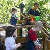 Wasser-Matsch-Anlage am Louise-Scheppler-Kindergarten